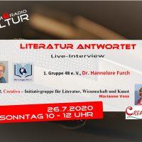 Literatur antwortet – Gruppe 48 e. V. und Creativo