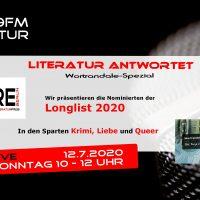 Literatur antwortet – Wortrandale Longlist 2020