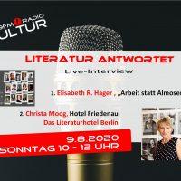 Literatur antwortet – Elisabeth R. Hager und Christa Moog