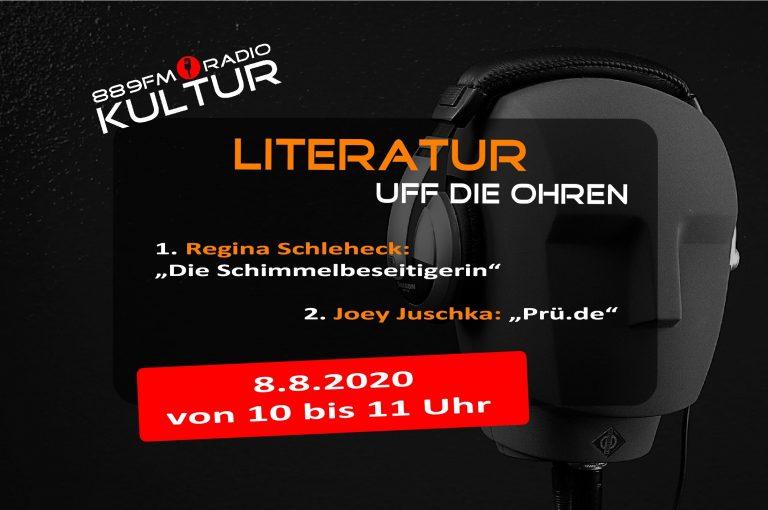 Literatur uff die Ohren 8.8.2020
