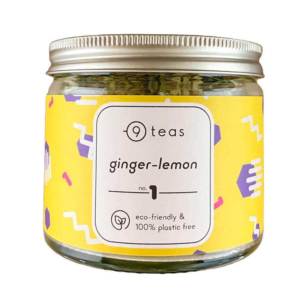 losse thee ginger lemon