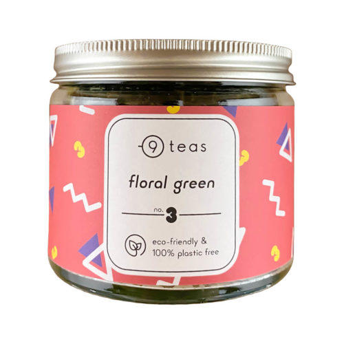 losse thee floral green