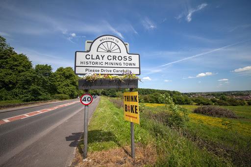 car keys cut clay cross