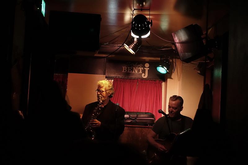 Jazzbar Bent J. Foto: Mogens Pedersen, Ta' selv foto.