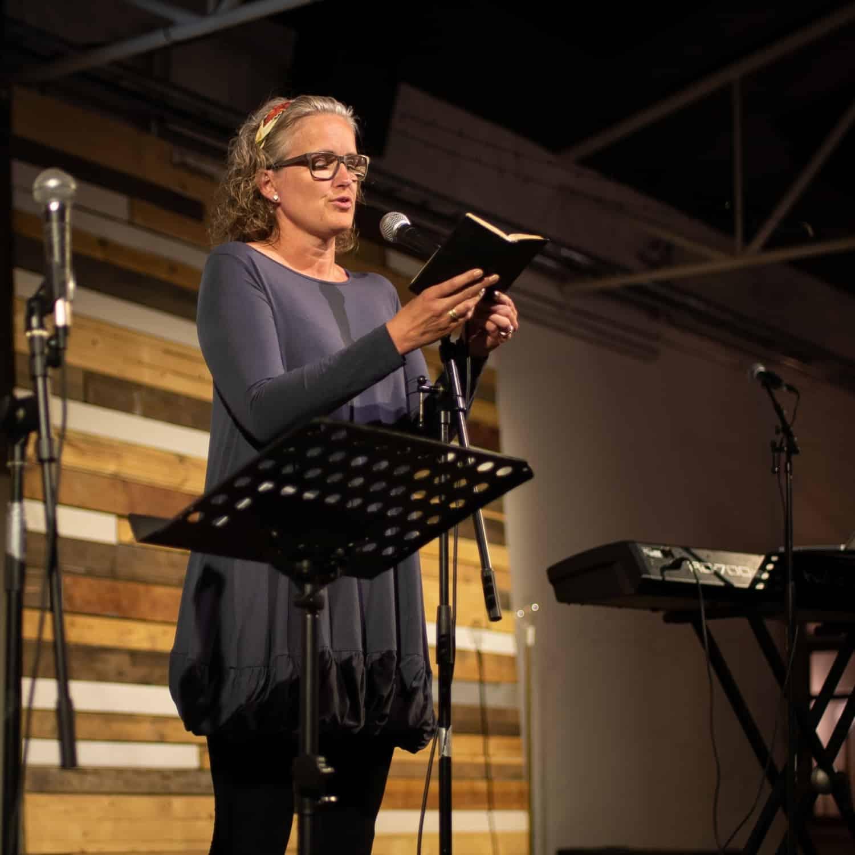 Tekstlæsning til prædiken i Aalborg Valgmenighed