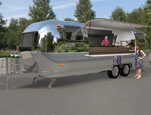 3D Produktvisualisierungen – Airstream Foodtruck