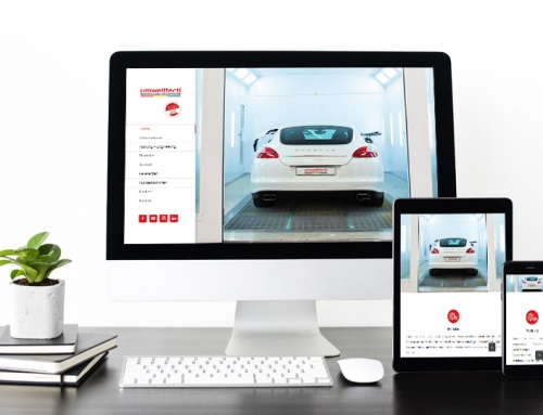 Web Design – www.lackieranlage.at