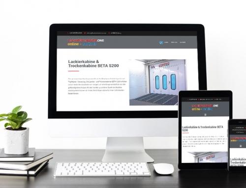 Web Design – www.lackierkabinen.one