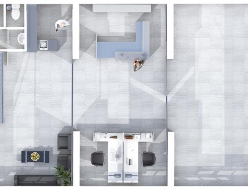 2D | 3D Grundrisse – BP-Garagen EG
