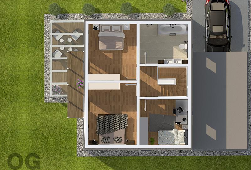 2D   3D Grundrisse