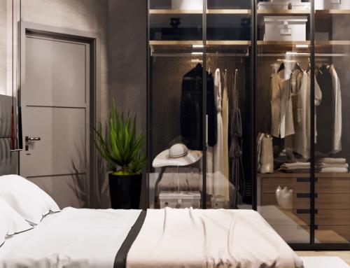 Innenraum Visualisierungen Schlafzimmer A