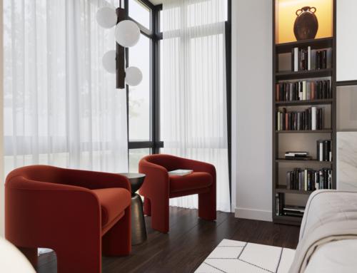 Innenraum Visualisierungen Schlafzimmer M