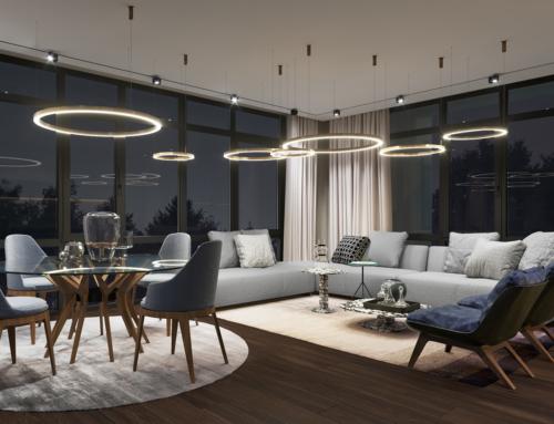 Innenraum Visualisierungen Wohnzimmer Design