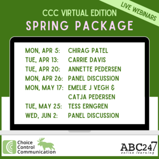 FULL PACKAGE ccc spring webinars