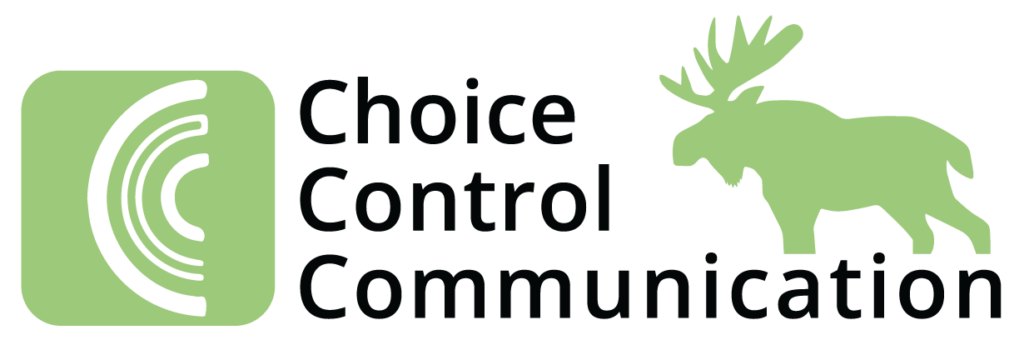 CCC green logo with a moose