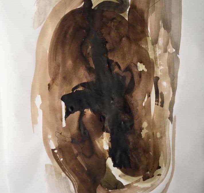 Akvarel 117×185 cm.