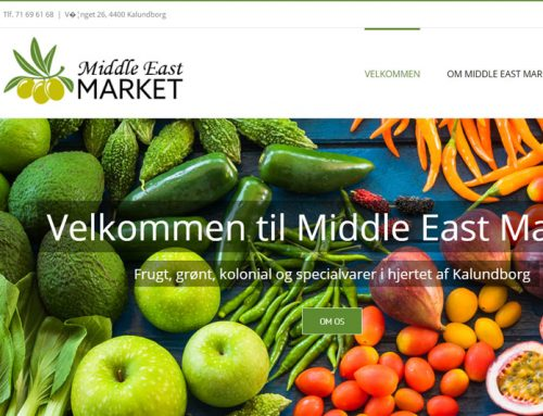 Middle East Market WordPress