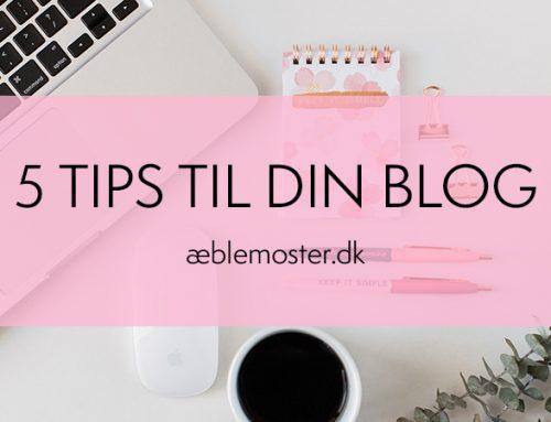 5 tips om blog på din hjemmeside