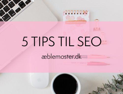 5 tips til SEO