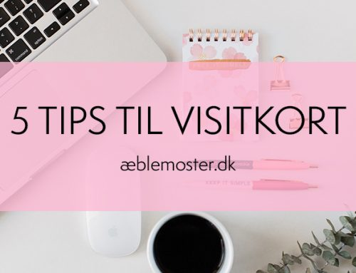 5 tips til visitkort