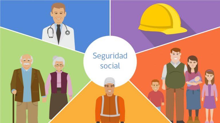 Seguridad Social medico abuelos familia trabajador