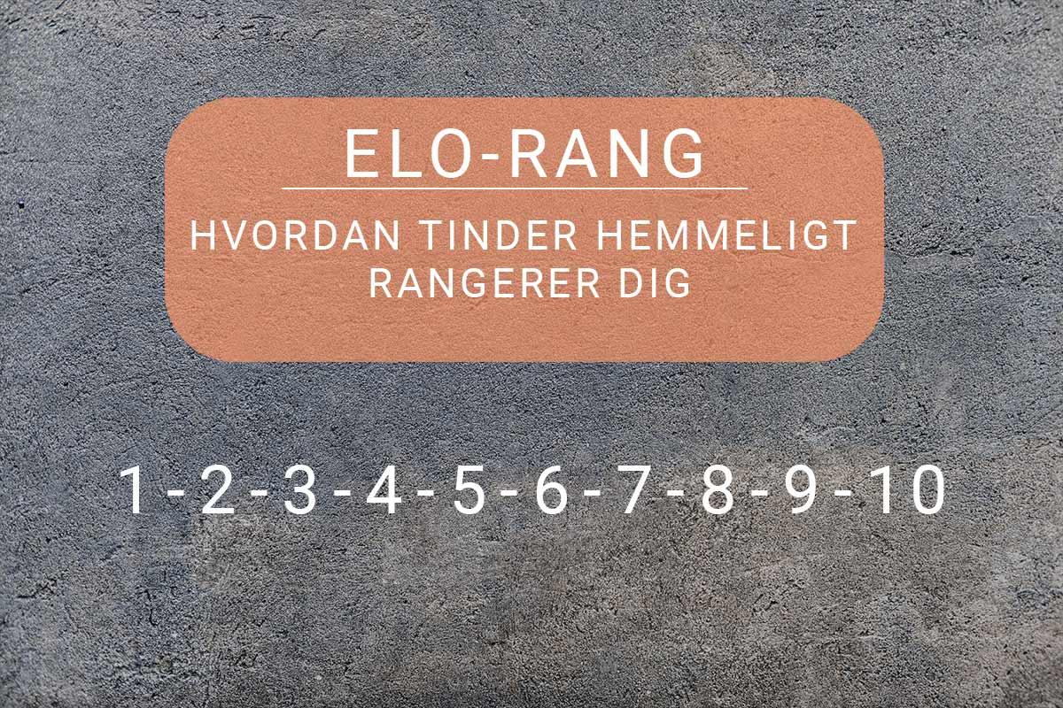 Tinder Elo Rang