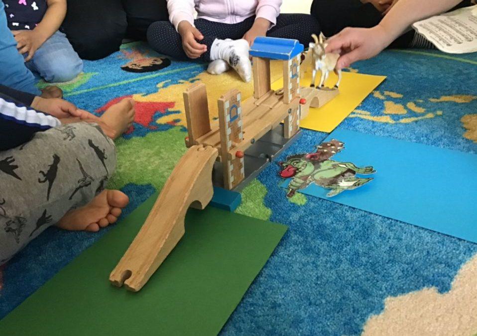 Språkutveckling på Förskolan Jordklotet i Rågsved