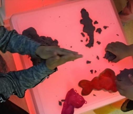 Experiment på Förskolan Jordklotet i Rågsved