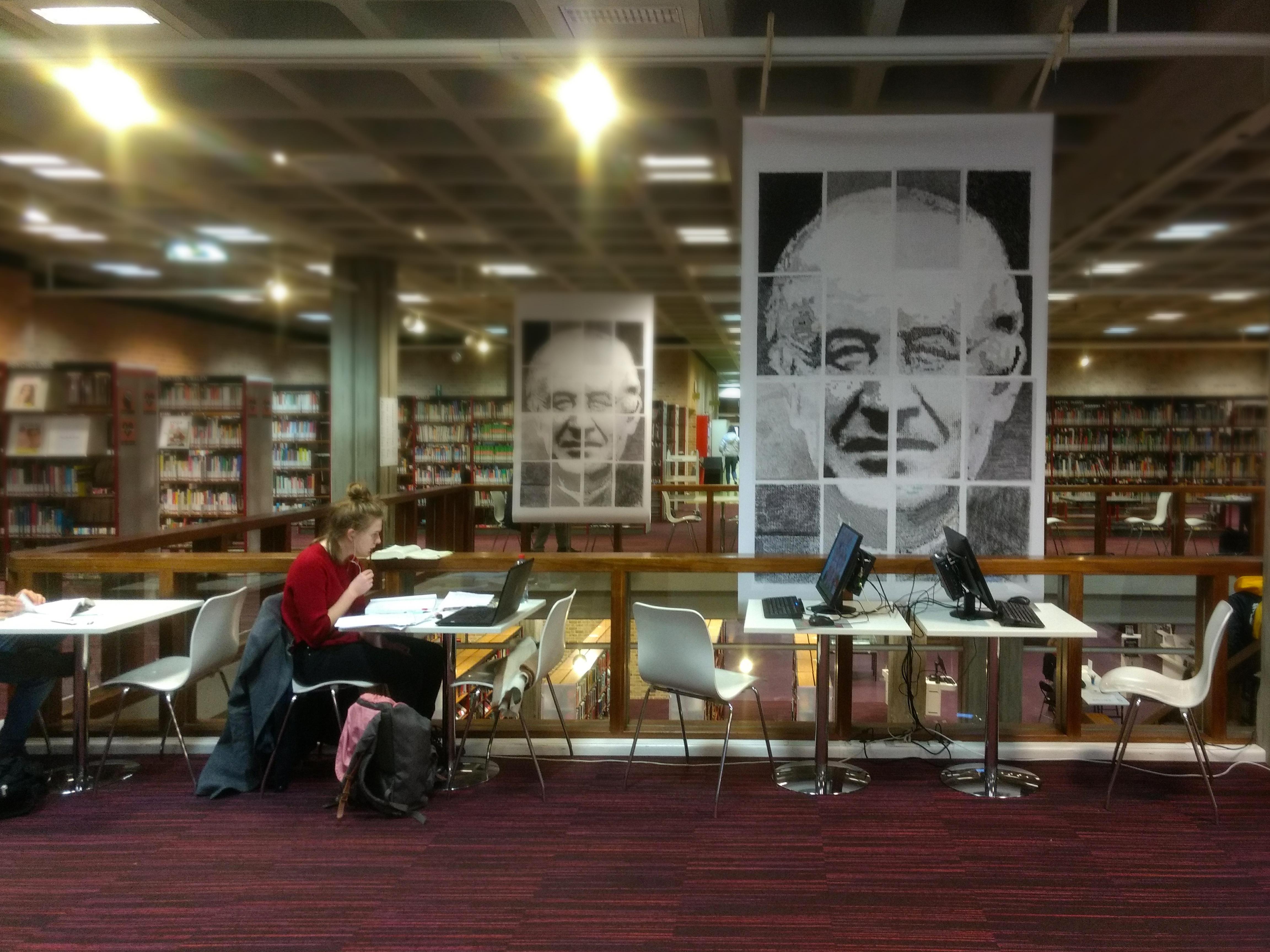 Foto Atelier Gezelle tentoonstelling in Hoofdbibliotheek Biekorf