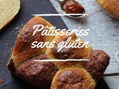 Pâtisseries sans gluten au levain