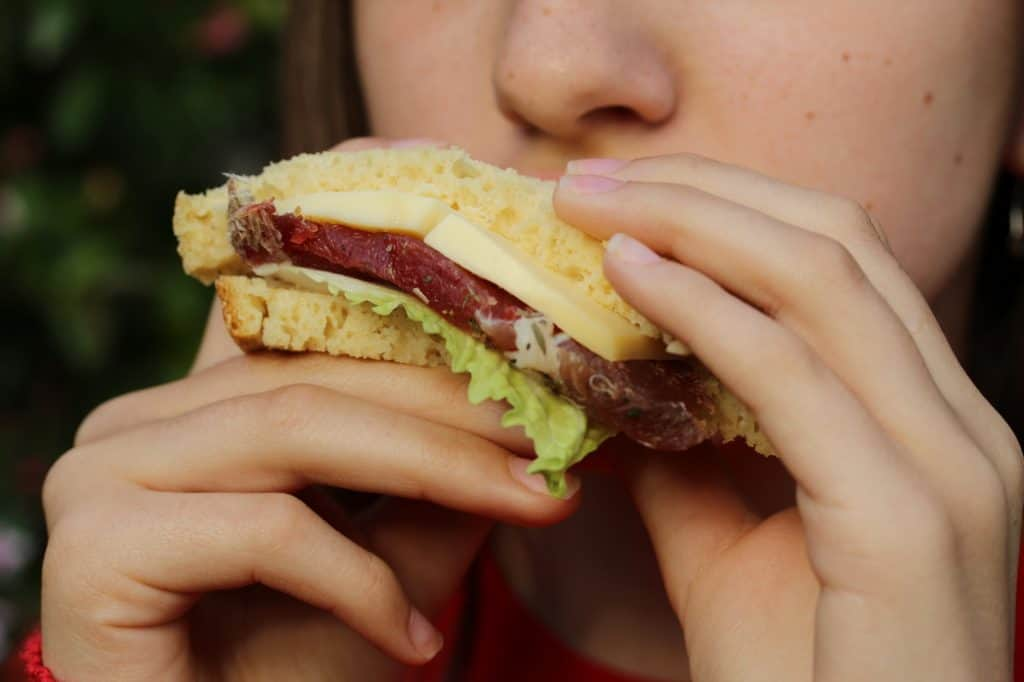 Sandwich sans gluten