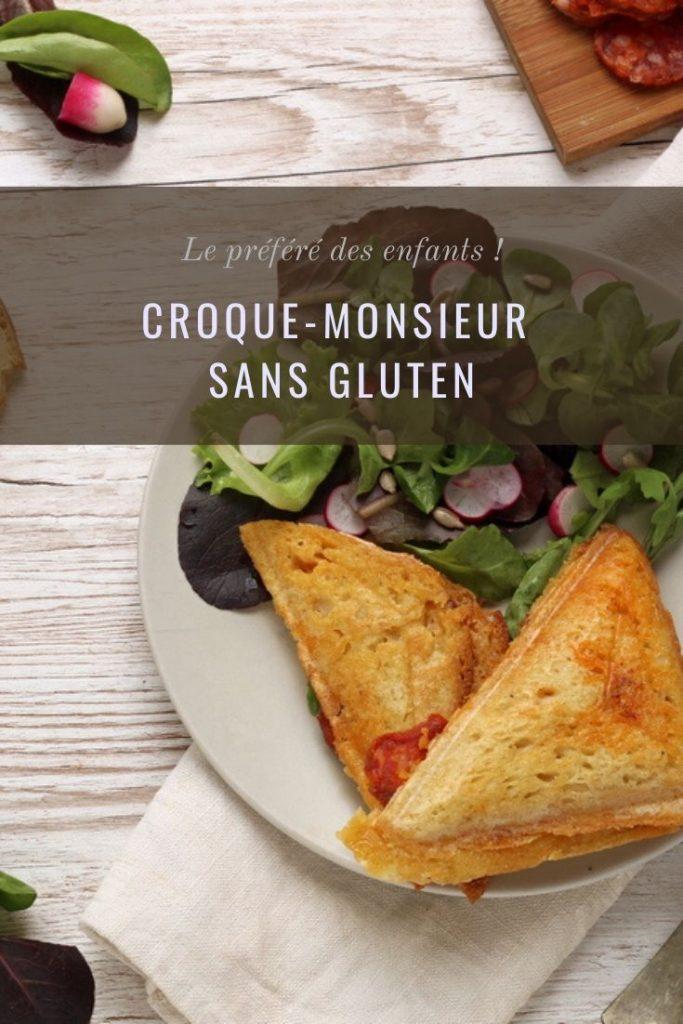 Croque-monsieur sans gluten
