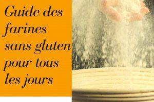 Guide des farines sans gluten P1