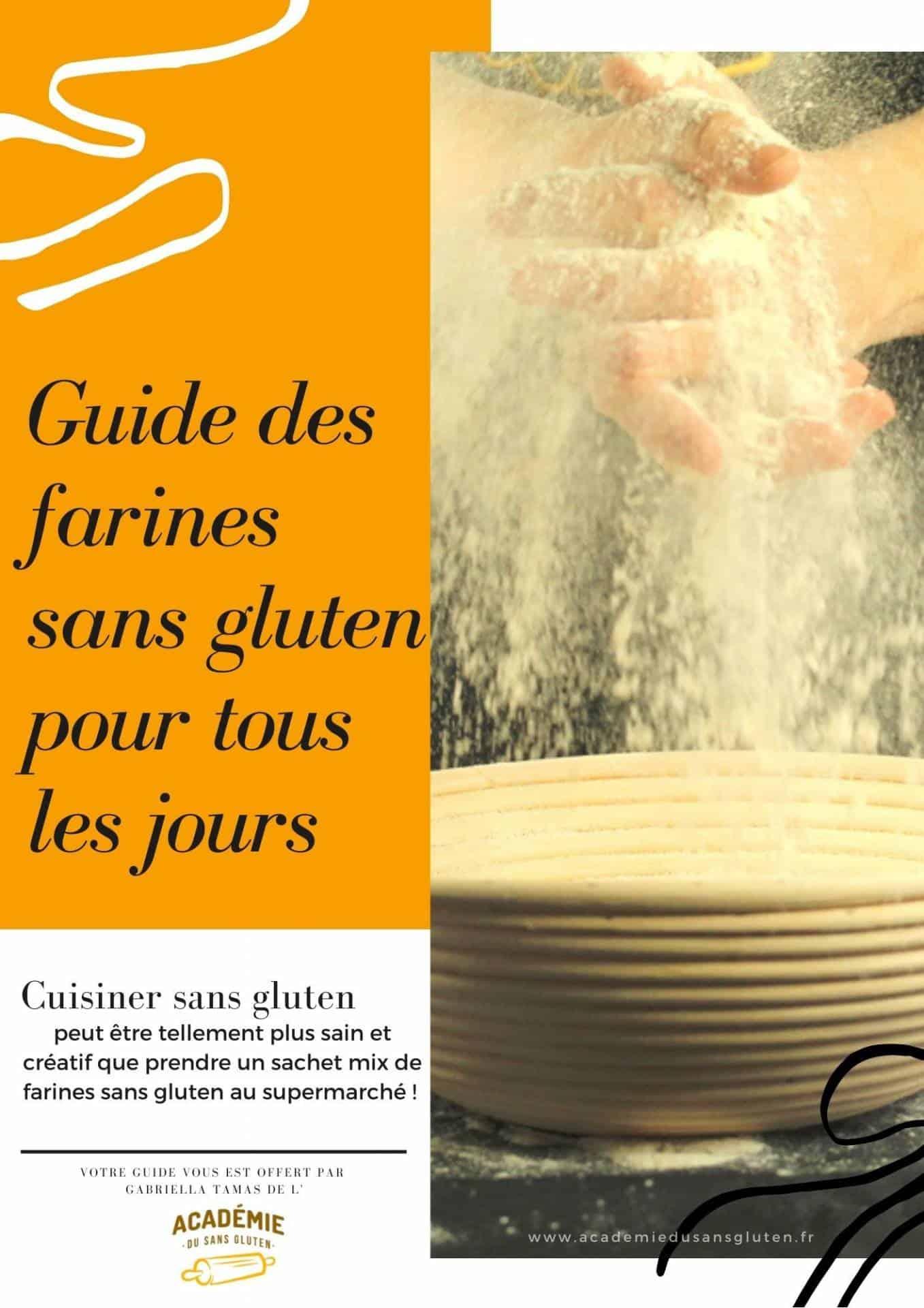 Guide des farines sans gluten pur tous les jours