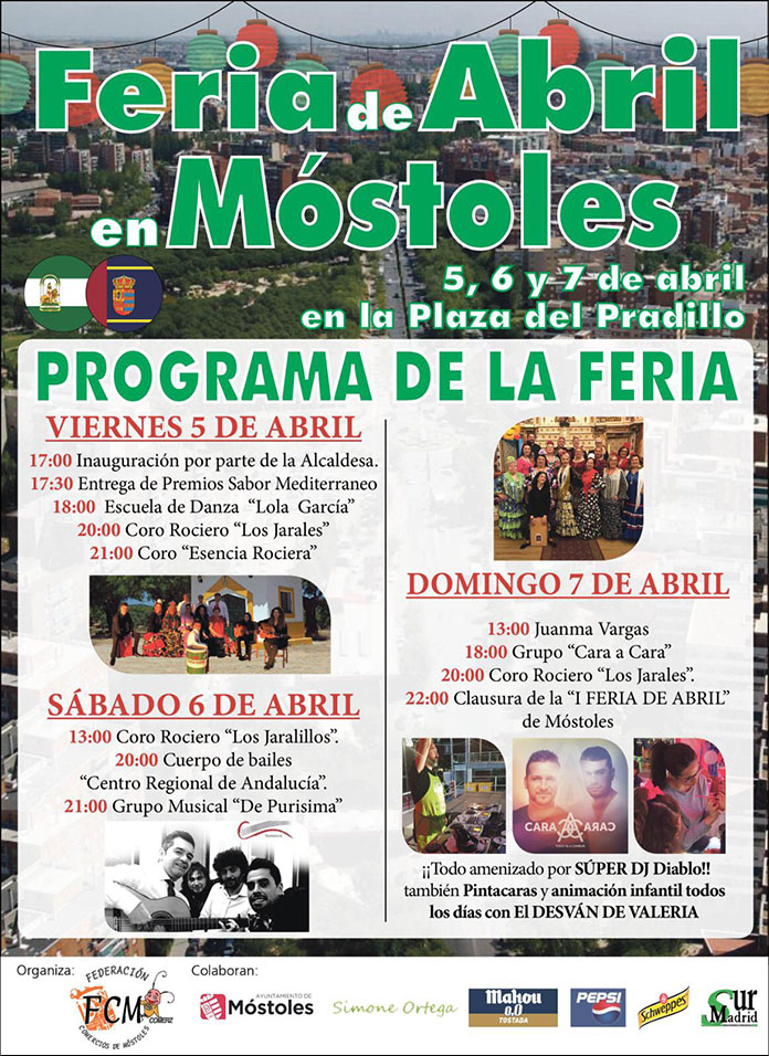Feria de Abril en Móstoles