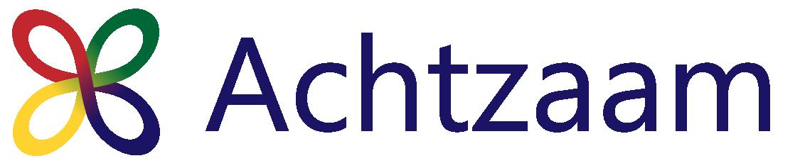 Achtzaam logo menu
