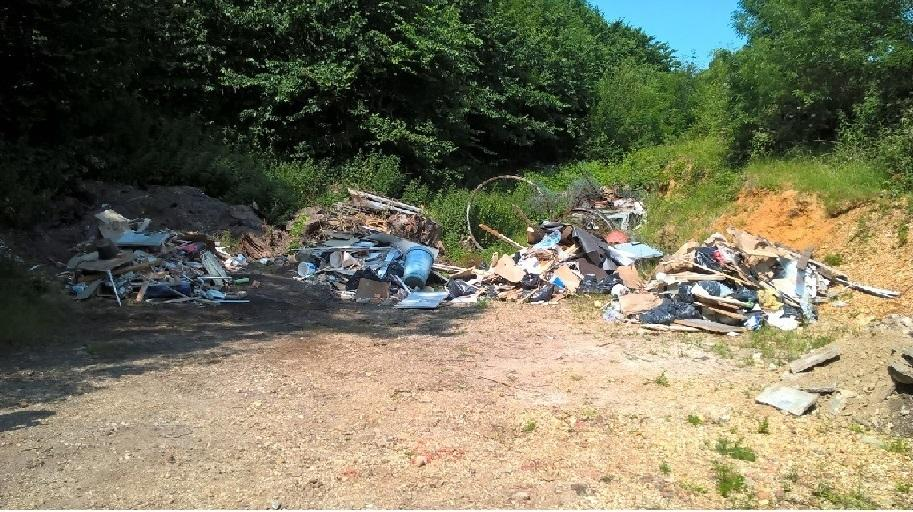 Don't be fined for fly tipping use a registered waste handler
