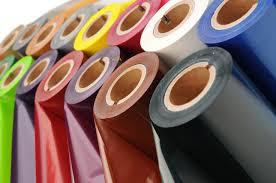 ribbon colorati per il trasferimento termico