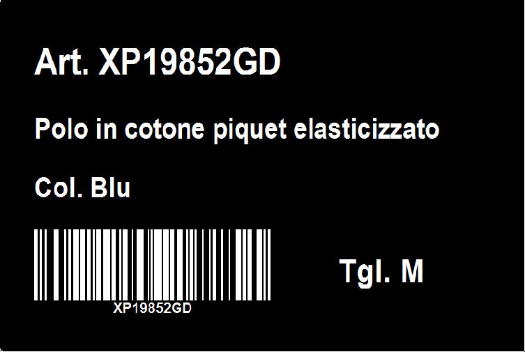 etichetta nera