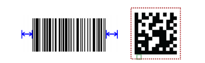 QUIET ZONE codice a barre