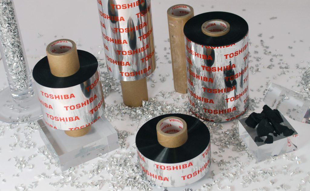ribbon Toshiba Tec per stampanti a trasferimento termico