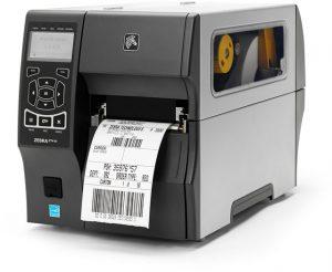 Zebra ZT400 stampante industriale di etichette