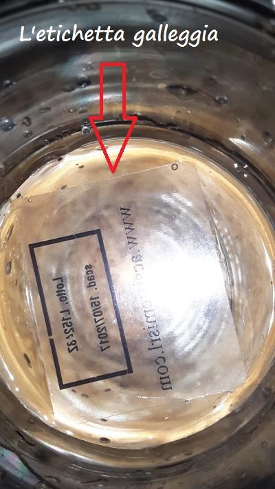 etichetta in polipropilene