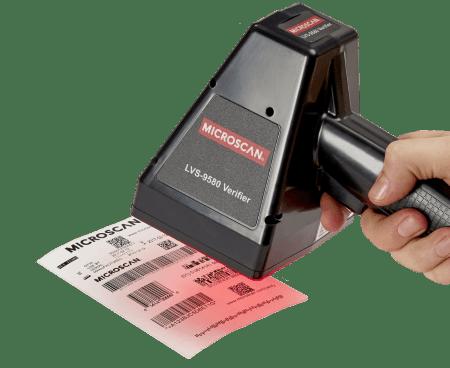LVS-9580 verificatore barcode