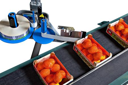 applicatore di etichette per prodotti alimentari