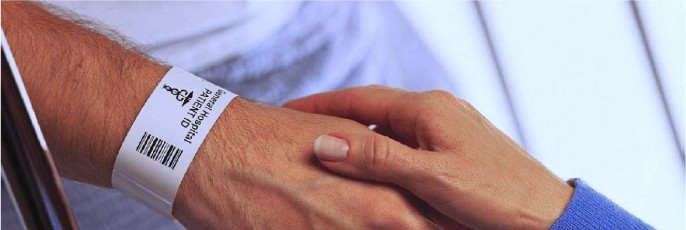 braccialetti identificativi paziente