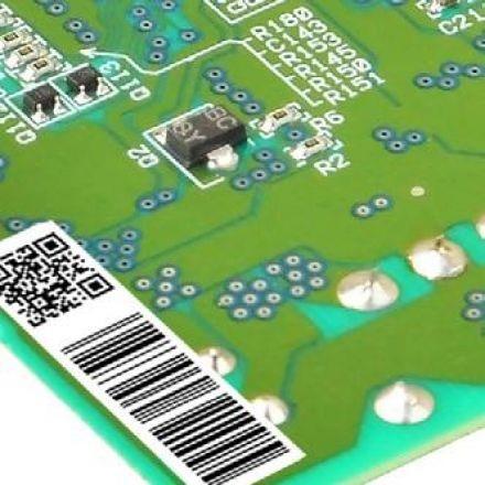 etichette per le schede elettroniche