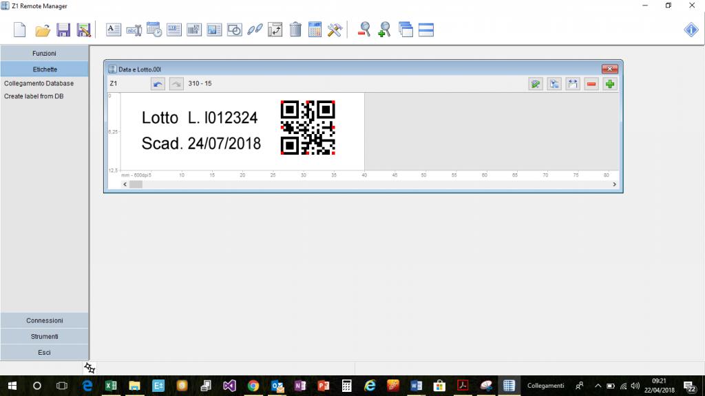 software marcatore