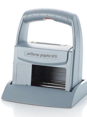 marcatore portatile a getto d'inchiostro jetstamp