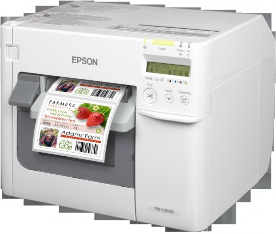 stampante di etichette a colori epson 3500